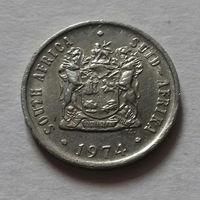 10 центов, ЮАР 1974 г.