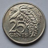 Тринидад и Тобаго, 25 центов 2005 г