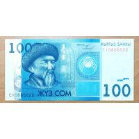 100 сом 2009 года - Киргизия - UNC