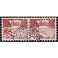 Швейцария 1949, Озеро Гримзель, 2 марки