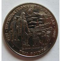 Южная Георгия и Южные Сандвичевы острова 2 фунта 2007 г