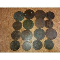 Монеты Европа старые