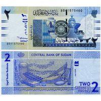 Судан. 2 фунта (образца 2006 года, P65, UNC)