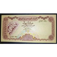 """РАСПРОДАЖА С 1 РУБЛЯ!!! Йемен 100 риалов 1984 год UNC """"Нечастая"""""""
