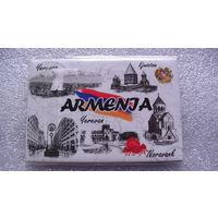 """Магнит на холодильник. Армения """"5 известных мест"""". распродажа"""
