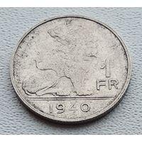 Бельгия 1 франк, 1940 'BELGIE-BELGIQUE 3-14-49