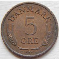Дания 5 оре 1963 год