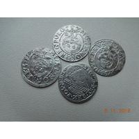 РАСПРОДАЖА КОЛЛЕКЦИИ !!! 3 гроша ( трояк) 1624 г. Сигизмунд - III + полтораки 3 шт. ( без повторов )всё одним лотом, распродажа с 1 - го рубля, без минимальной цены ! Только на 3 дня !!!
