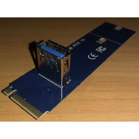 Переходник NGFF M.2-to-USB 3.0
