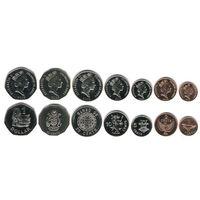 Соломоновы острова набор 7 монет 1995-2008