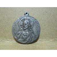 Медаль католическая Ватикан Италия нач 20-го в