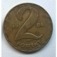 Венгрия 2 форинта, 1984г.