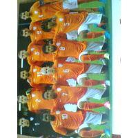 Постер сб.Голландия-до 21 года