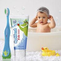 Детская зубная паста с клубничным вкусом Optifresh - В НАЛИЧИИ