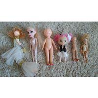 Куклы, пупсы, домик для кукол.