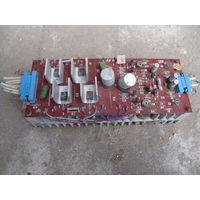 Радиатор. плата усилителя. КТ808БМ.
