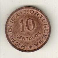 Сан-Томе и Принсипи 10 сентаво 1962