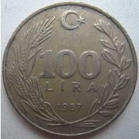 Турция 100 лир 1987 г. (g)