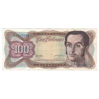 Венесуэла 100 боливаров 1976 года. Более редкий год! Нечастая!