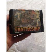 16 bit картридж sega the battleship