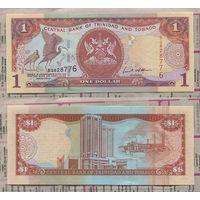 Распродажа коллекции. Тринадад и Тобаго. 1 доллар 2002 года (P-41 - 2002 Issue)