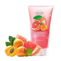 Скраб для тела с ароматом Розового грейпфрута и абрикоса 200мл