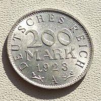 """Германия 200 марок, 1923 """"A"""" - Берлин 5-2-10"""