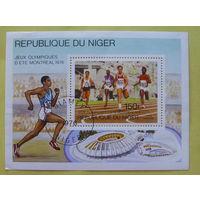 Нигер. Спорт. ( Блок ) 1976 года.