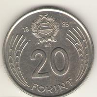 20 форинтов 1985 г.