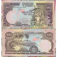 Распродажа коллекции. Самоа. 10 тала 2005 года (Р-34b. 2002-2006 ND Issue)