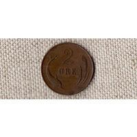 Дания 2 эре 1899/Дельфин(Oct)