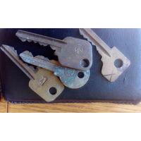 Ключи с клеймами (латунь)