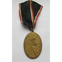 """Медаль """"Рваные знамена"""", Германия, ПМВ"""
