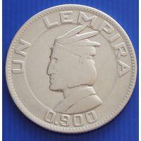 Гондурас. 1 лемпира 1934 год   KM#75