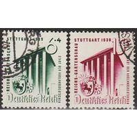 1939 - Рейх - Садовая выставка в Штутгарте Mi.692-93  _9,0 EU