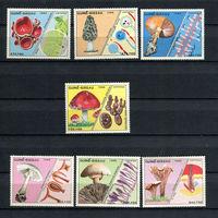 Гвинея-Бисау - 1988 - Грибы - [Mi. 989-995] - полная серия - 7 марок. MNH.