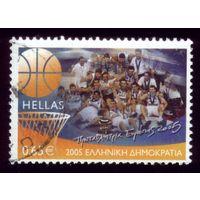 1 марка 2005 год Греция Баскетбол 2319