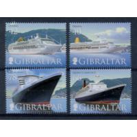 Гибралтар. 2007. Транспорт. Корабли. Круизные лайнеры