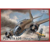 PZL.37A Los Polish Medium Bomber  1/72 IBG 72511