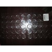 Эпоксидные наклейки серединки диаметр 2,5 см