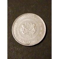 Сингапур 10 центов 1986г.