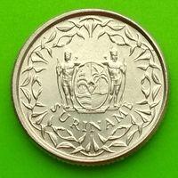 10 центов 1976 СУРИНАМ *