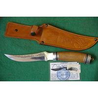 Нож охотничий с сортификатом