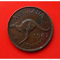 23-09 Австралия, 1 пенни 1962 г.