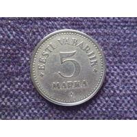 5 марок 1924г.Эстония.