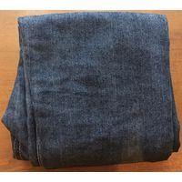 Детские новые светящиеся тёмно-серо-синие с фиолетовым отливом с прямым широким кроем в ногах джинсы для мальчика от 11 до 14 лет