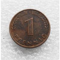 1 пфенниг 1950 (J) ФРГ #02