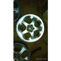 Диски литые 5х98 R17, стояли на Alfa Romeo 156