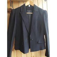 Черный пиджак женский новый