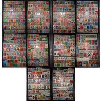 Распродажа коллекции! 800+ марок и блоки. (Западная Германия, ФРГ 1945-2005 гг). От старых до современных. Гашеные, полные серии, есть нечастые, дорогие. (850+ Mi-Eur. Маленкая МЦ!)